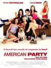 American party-van wilder, relations publiques
